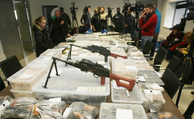 Експерт: Намерените оръжия са заплаха за националната сигурност