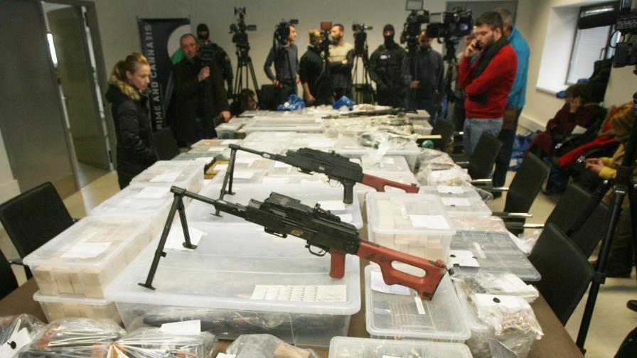 <p>Експерт: Намерените оръжия са заплаха за сигурността&nbsp;</p>