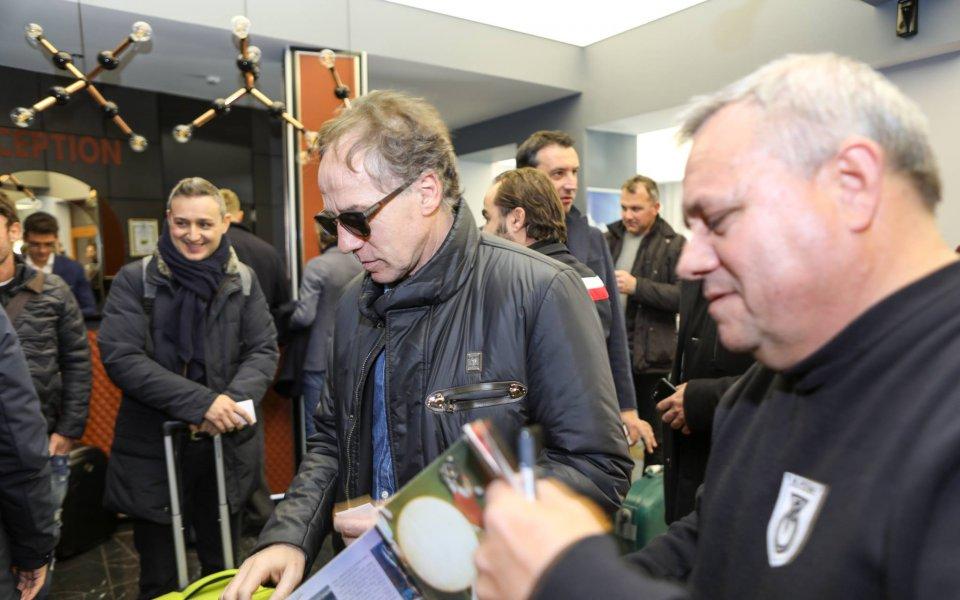 Италианските звезди пристигнаха в Панагюрище