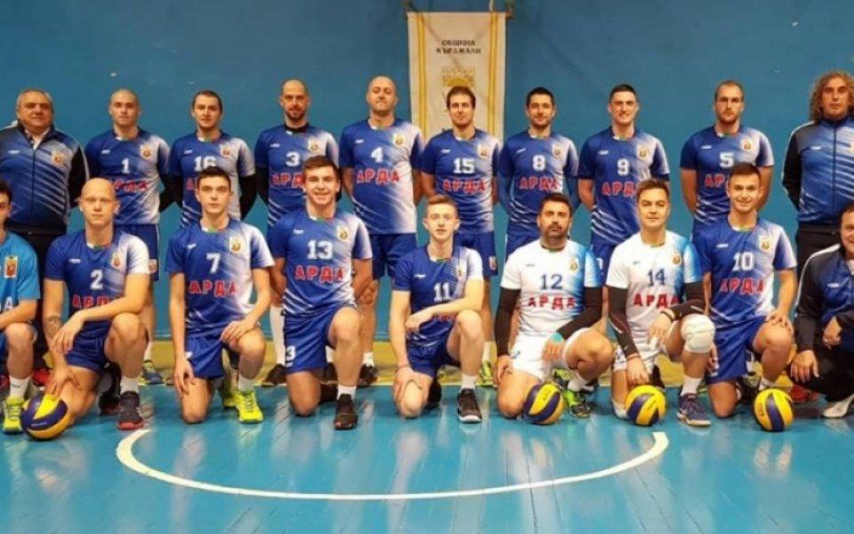 Третият кръг от купата по волейбол противопоставя отбори от Висшата лига