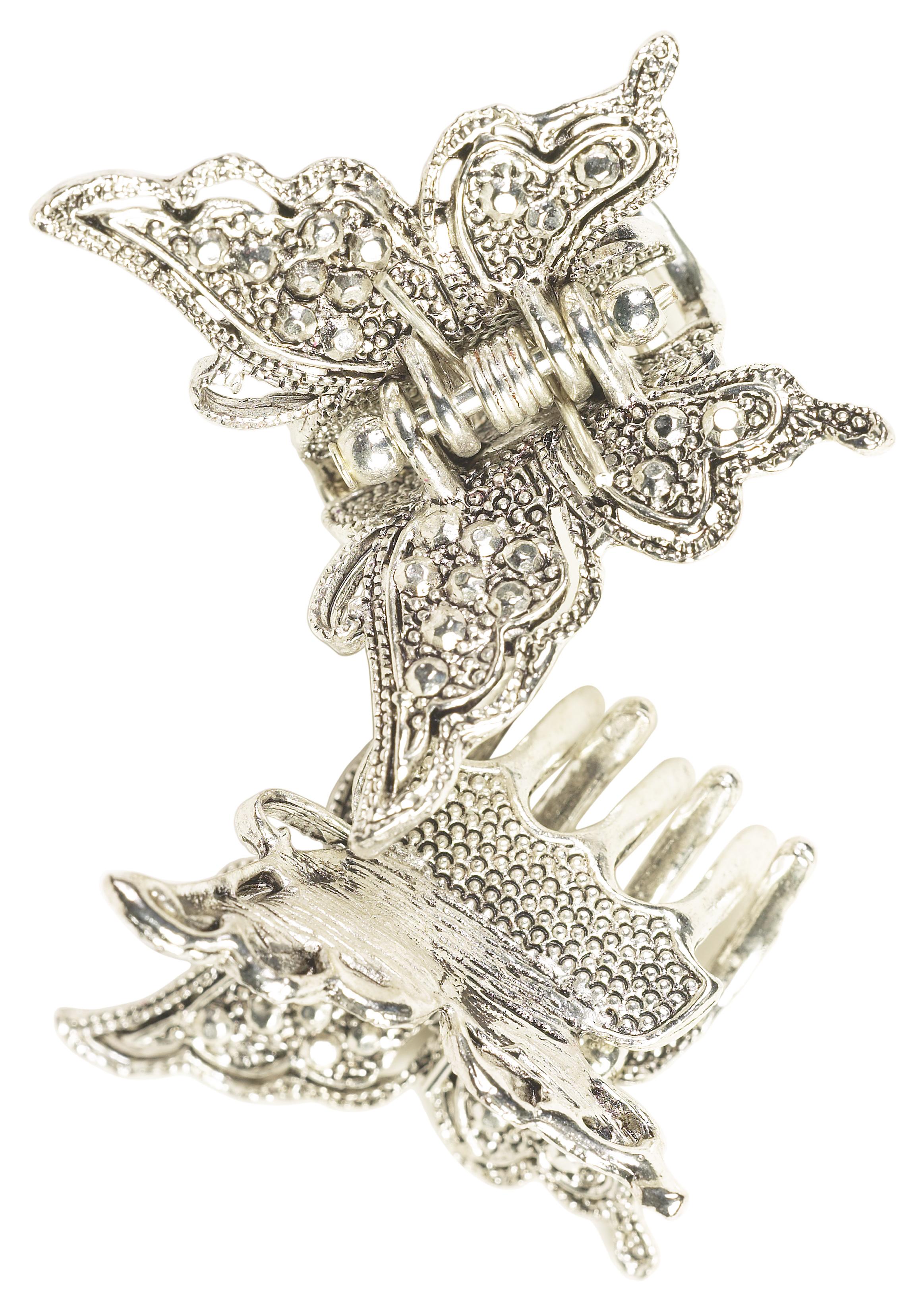 """Малките шноли за коса с пеперудки. Някои ги наричаха също и """"треперушки"""", подобно на обеците."""
