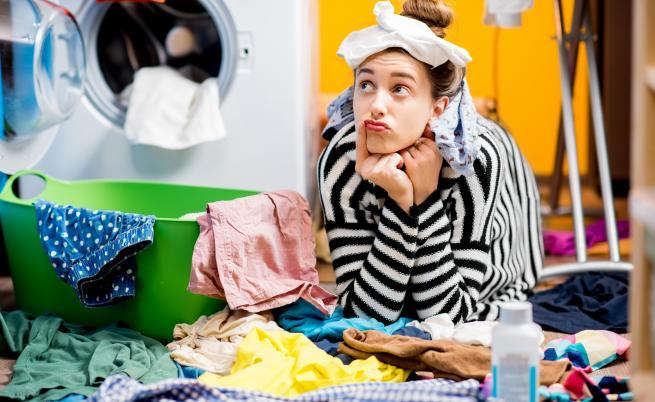Защо е опасно да сушим прането в стаята