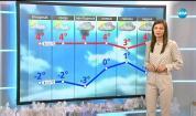 Прогноза за времето (10.12.2018 - централна емисия)