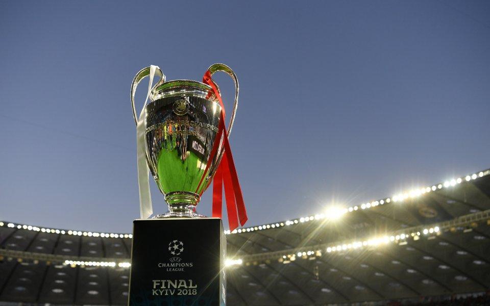 Точно седмица преди най-големия мач за европейския клубен футбол –