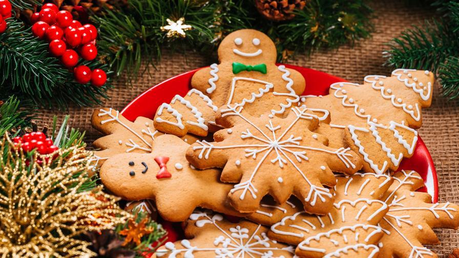 Коледни сладки - лесни като детска игра