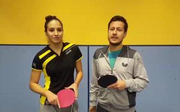 Най-добрите ни състезатели по тенис на маса се включиха в Благотворителния търг