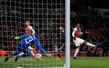 Арсенал нямаше грижи срещу Симеон Славчев и Карабах