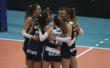 Левски спука от бой ЦСКА в женското волейболно дерби