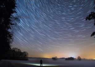 Метеоритният поток Джеминиди освети цялото небе