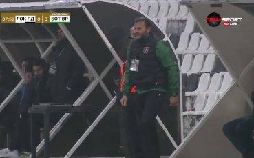 Сашо Ангелов не води Ботев Враца срещу Локо Пловдив