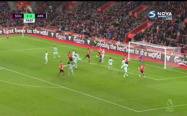 Саутхемптън - Арсенал 3:2 /репортаж/
