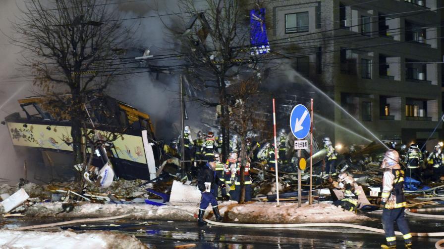 Мощен взрив разтърси кафене в Япония, има жертви
