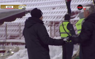 Али Соу поведе ЦСКА срещу Ботев насред снега