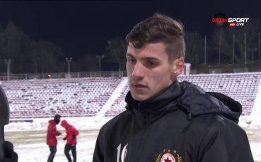 Десподов: Замислям се за трансфер в чужбина