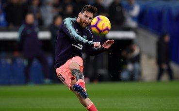 С трите гола срещу Леванте Меси оглави нова гласация