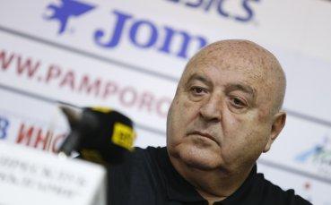 Венци Стефанов с коментар за натиска върху съдиите