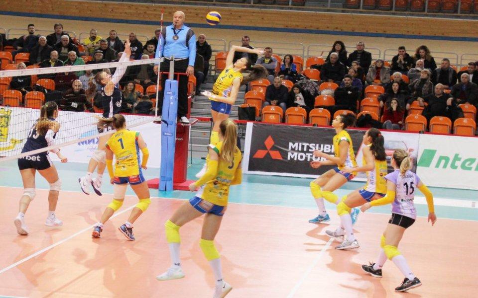 Ясна е програмата за плейофите в женския волейбол