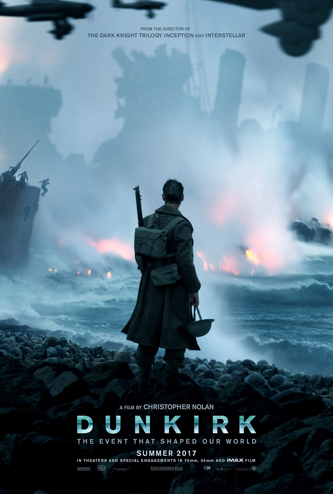 "15. Dunkirk / ""Дюнкерк"" (2017) – Режисьор: Кристофър Нолан; Участват: Хари Стайлс, Том Харди, Майкъл Кейн"