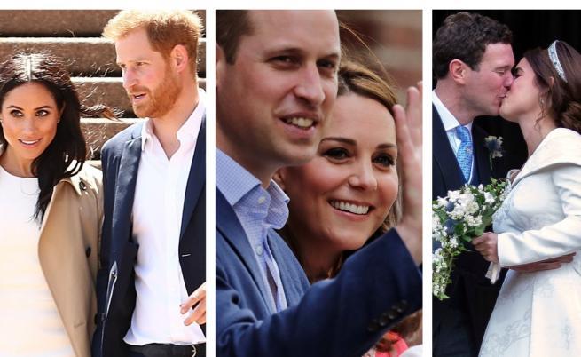 Едни от най-запомнящите се моменти на кралското семейство през 2018 г.
