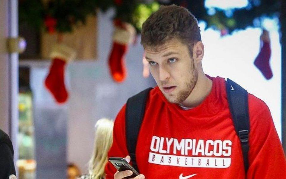 ЦСКА М с нова победа в Евролигата, Везенков отново не игра за Олимпиакос