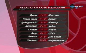 Какво се случи в турнира за Купата на България по волейбол?