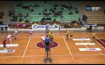 Какво се случи в 10-ия кръг в Суперлигата по волейбол?