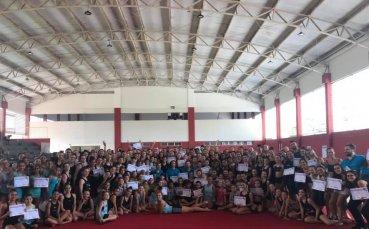 170 гимнастички и 90 треньори на мастър класа на Маркова и Тасева в Бразилия