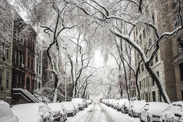 Ню Йорк през зимата