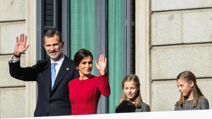 <p>Кралица Летисия облече рокля на своята свекърва</p>