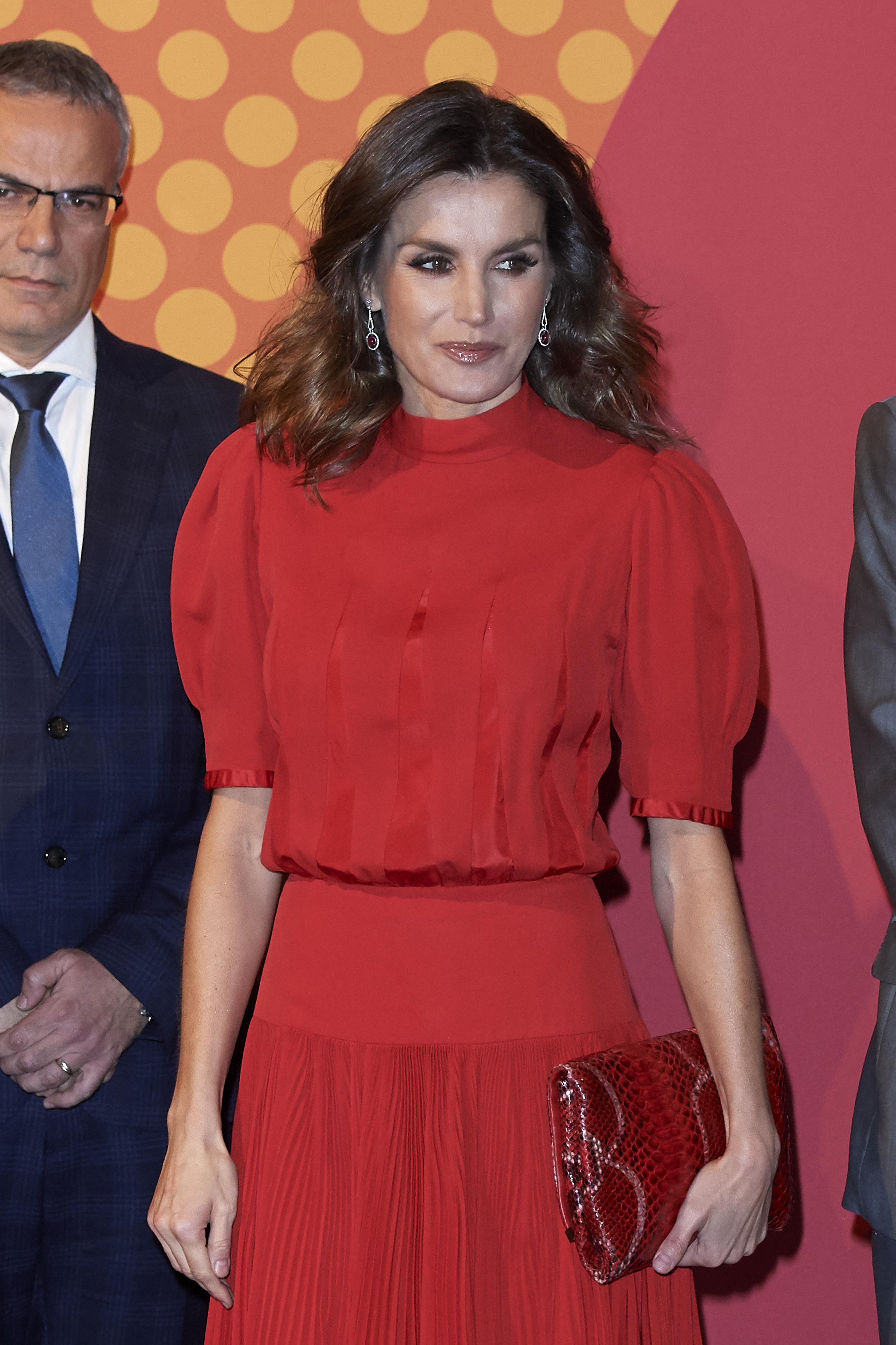 Испанската кралица Летисия е известна със своя елегантен стил и красота.