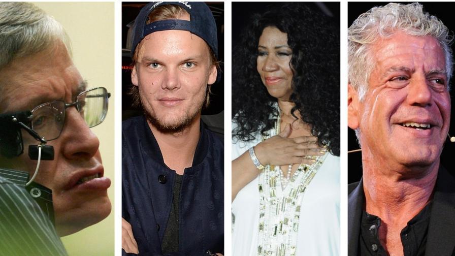 Световноизвестните хора, с които се сбогувахме през 2018 г.