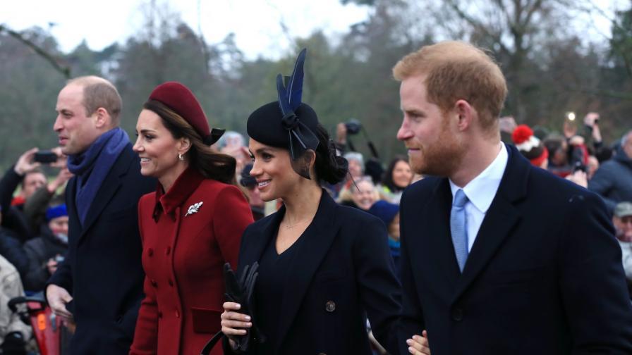<p>Кейт и Меган усмихнати една до друга (СНИМКИ)</p>