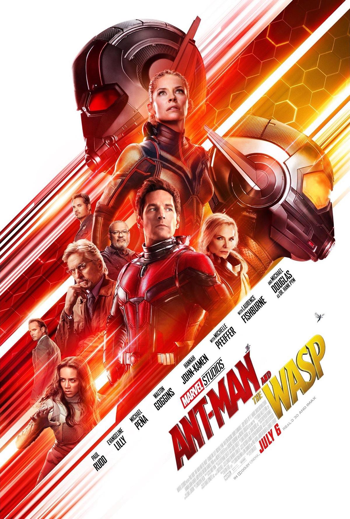 """10. Ant-Man and The Wasp / """"Ант-Мен и Осата"""" – Режисьор: Пейтън Рийд; Участват: Еванджелин Лили, Пол Ръд, Майкъл Дъглас"""