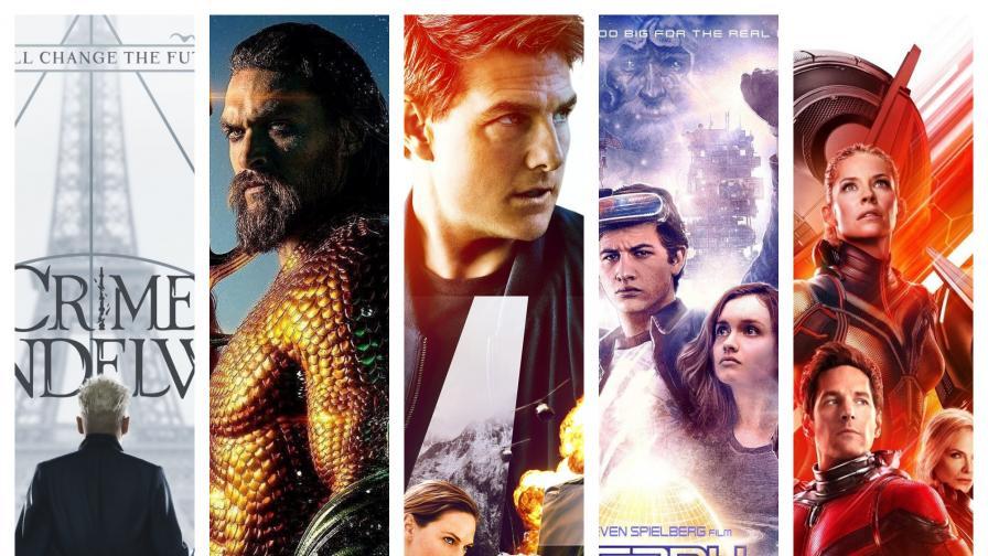 ГАЛЕРИЯ: Топ 10 касови филма за 2018 година