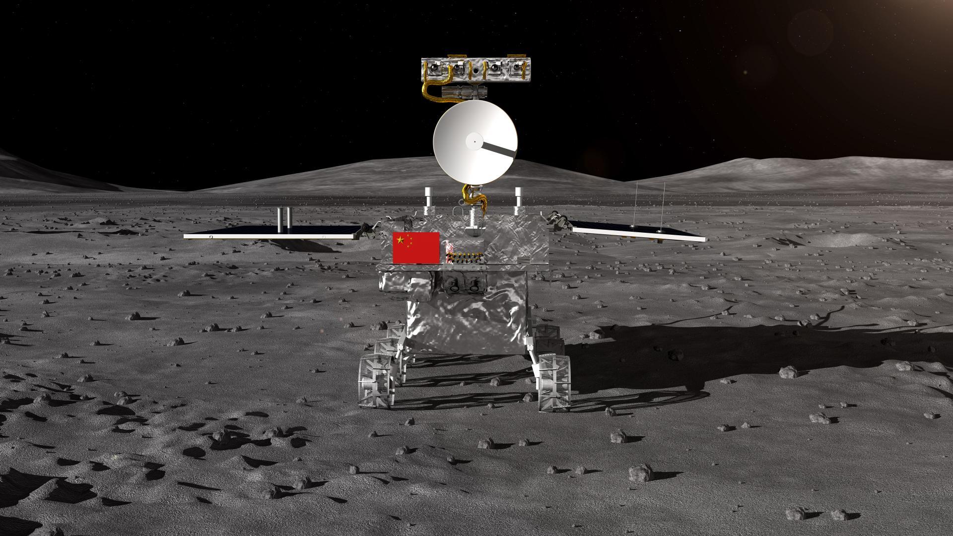 Китайски космически апарат кацна на далечната страна на Луната