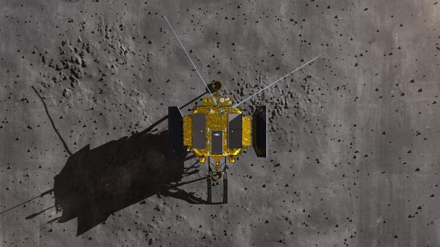 китай космически апарат луна