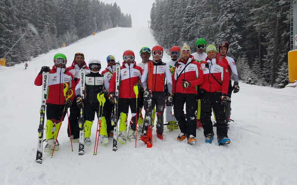 Националите по ски тренират в Банско