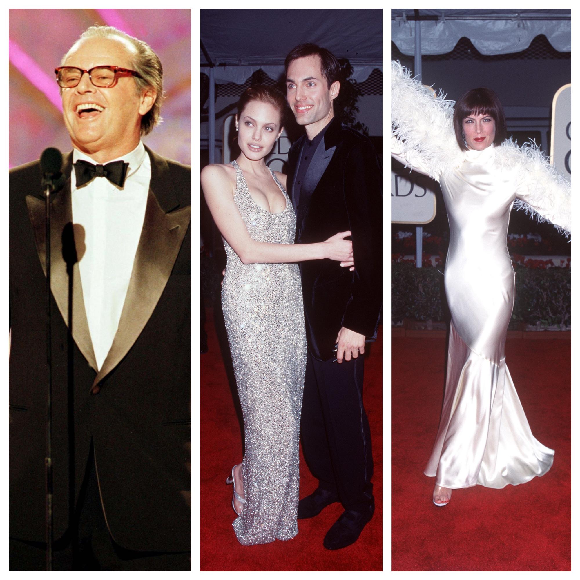 """Как е изглеждал червеният килим на наградите """"Златен глобус"""" през 1999 г."""