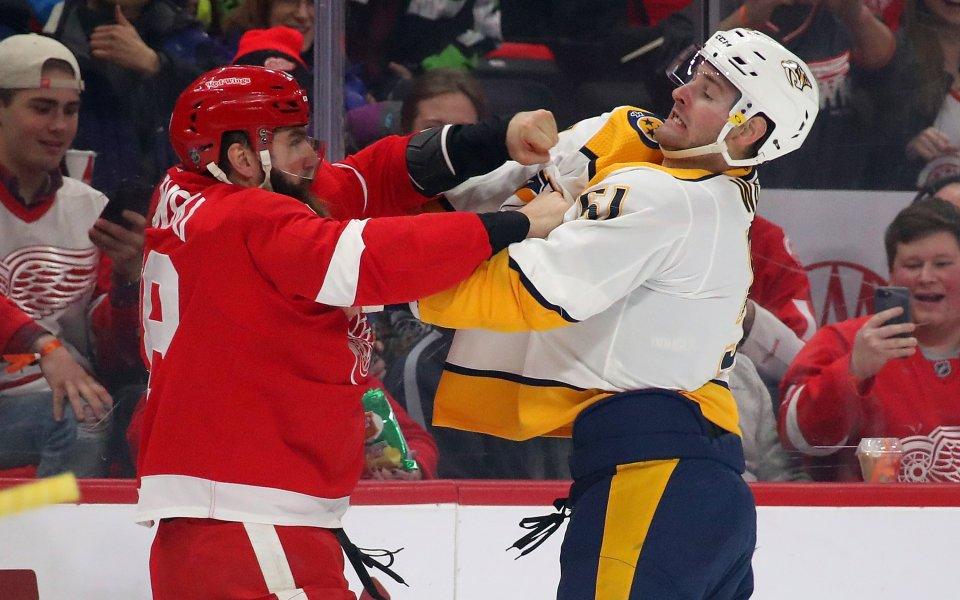 Нешвил с убедителна победа като гост в НХЛ, резултати