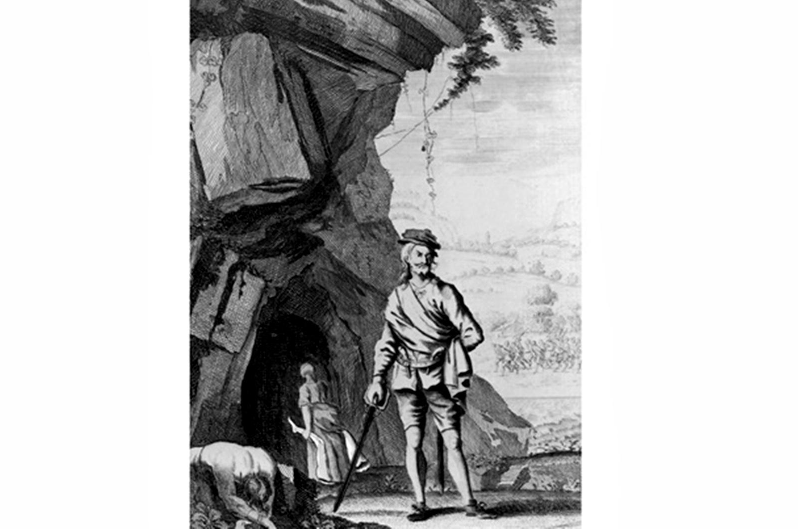 Смята се, че Александър Сауни Баан, е роден в края на XIV в. близо до Единбург. Предполага се, че се е занимавал с кожарство, копаене или плетене на огради. След като среща любовта на живота си, той зарязва всичко и се отделя от обществото. Двамата със съпругата му заживяват в пещера в Югозападна Шотландия, достатъчно просторна, за да създадат огромно семейство. Това се случва скоро - жената на Сауни му ражда 14 деца за кратък период от време.