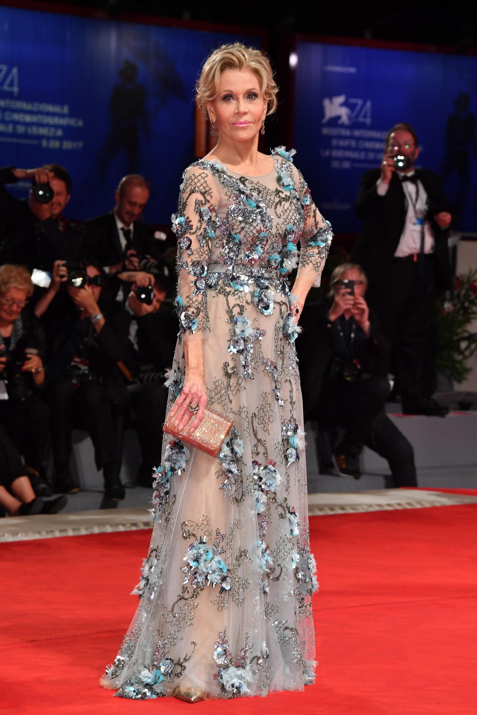 Джейн Фонда (2017 г.) на Филмовия фестивал във Венеция