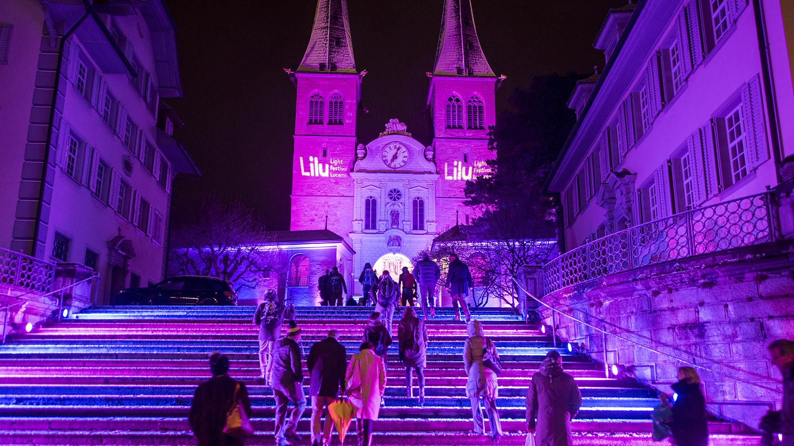 Около 17 проекта за светлинни изкуства ще бъдат представени на фестивала Lilu Light Festival Luzern от 10 до 20 януари, в Люцерн, Швейцария.