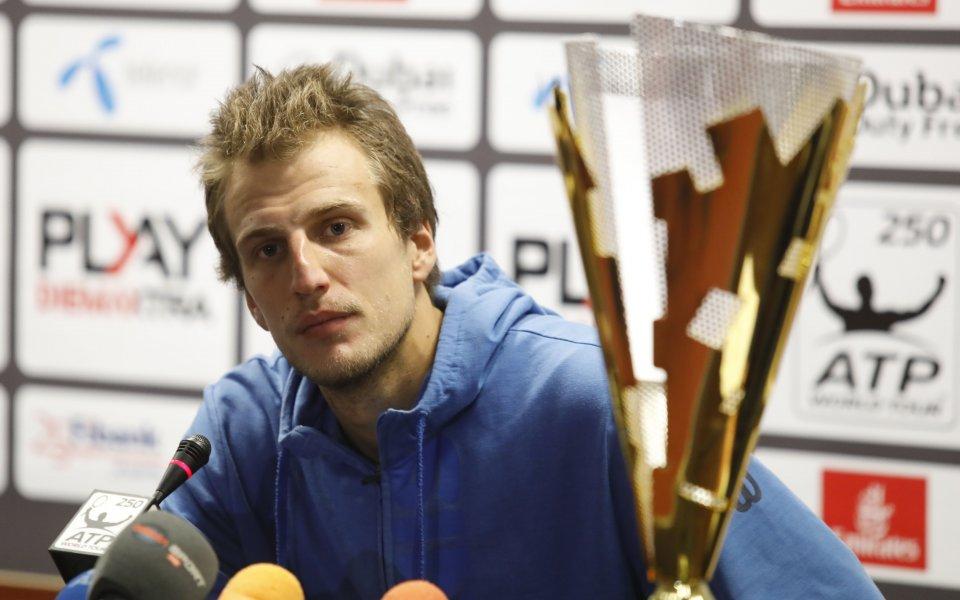 Шампионът от Sofia Open Мирза Башич - от войната в Сараево до славата