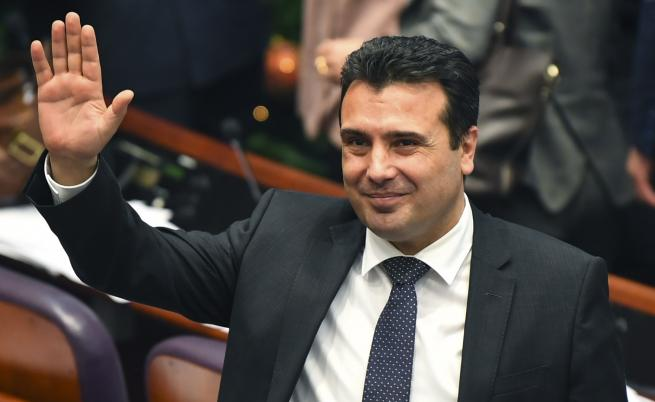 Зоран Заев: Да живее Северна Македония!