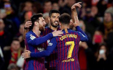 Обвиниха Барселона, че използвал наказан играч срещу Леванте