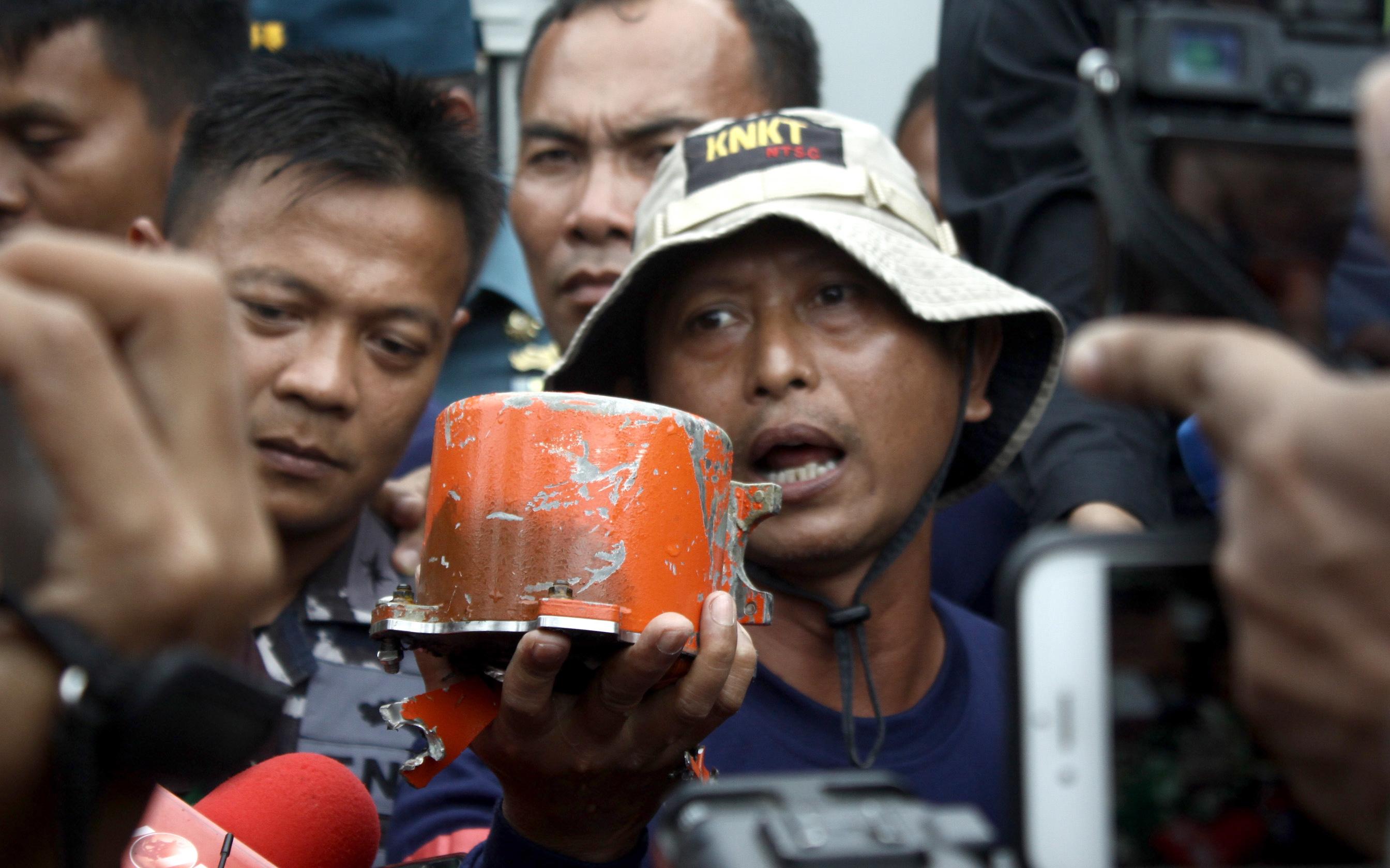 Машината изчезна в морето между островите Ява и Суматра