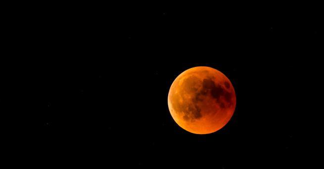 Пълно лунно затъмнение очакваме през първия месец от 2019 година.