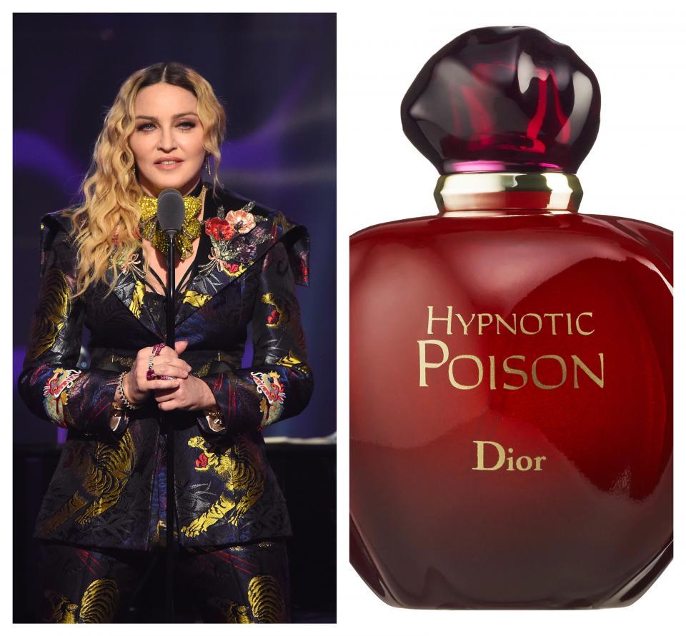 За Мадона нищо друго, освен Hyponotic Poison на Dior