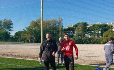 ЦСКА тренира здраво часове преди първата проверка