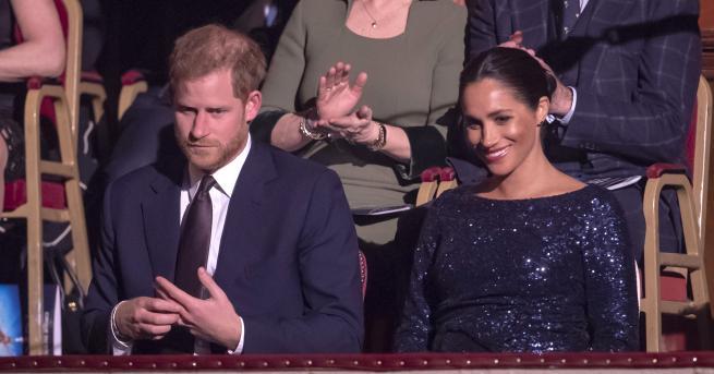 В сряда вечер херцогът и херцогинята на Съсекс посетиха представление